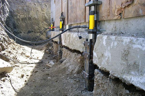разрушение фундамента грунтовыми водами