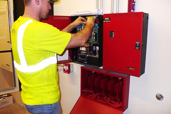 обслуживание пожарной сигнализациим