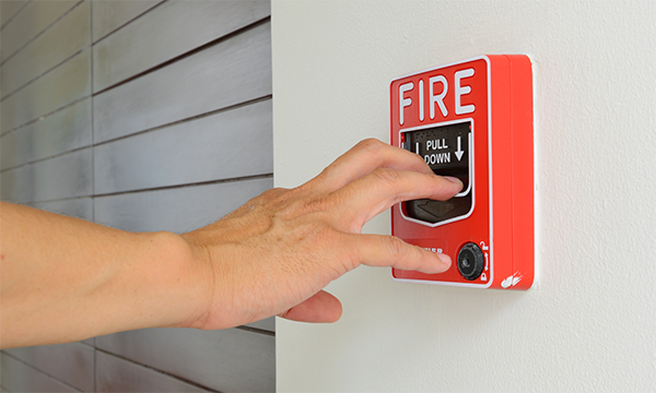 применение пожарной сигнализации
