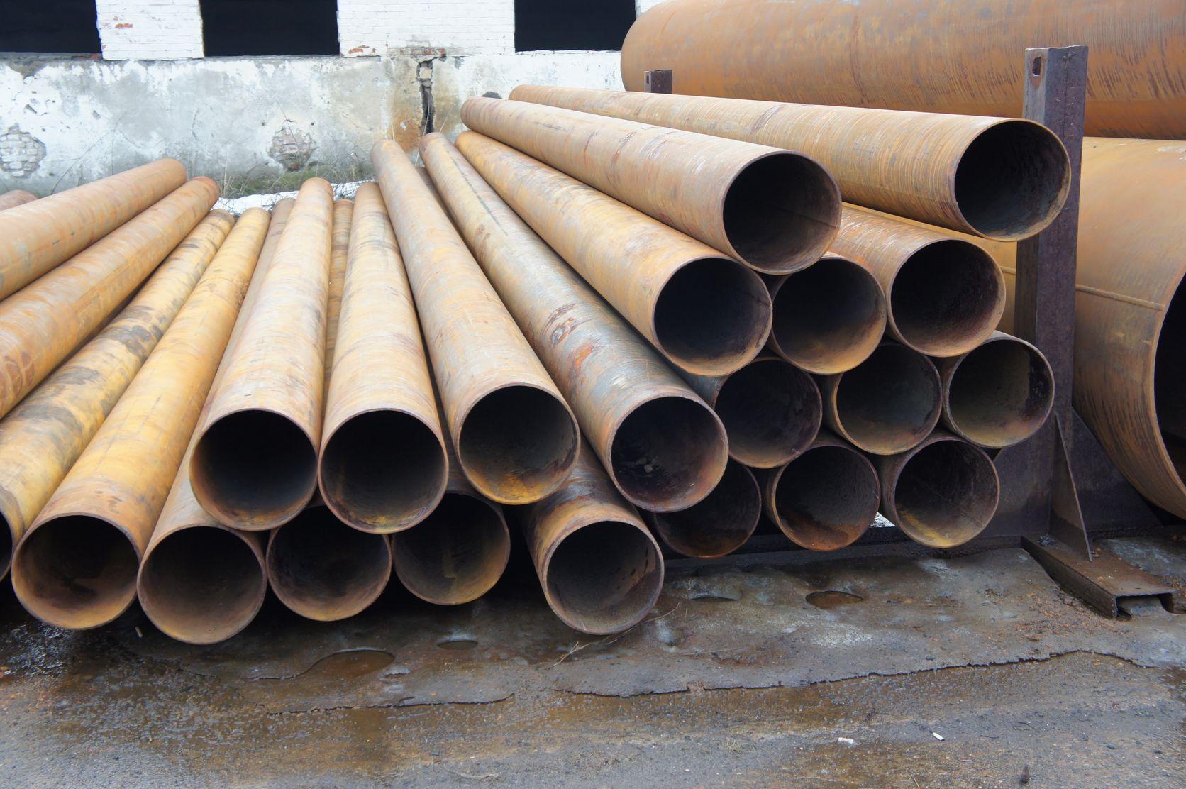 популярные стальные трубы