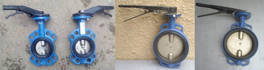 затвор дисковый межфланцевый