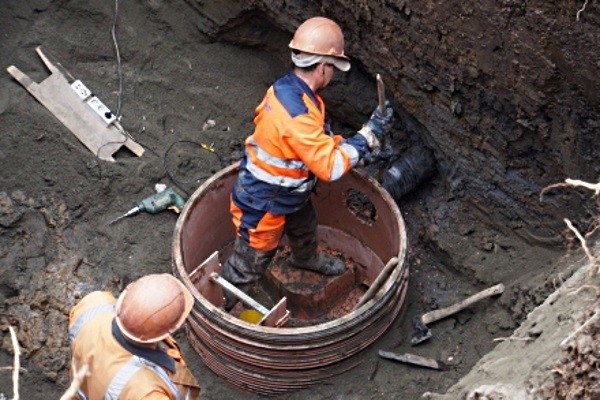 Монтаж кабельной канализации