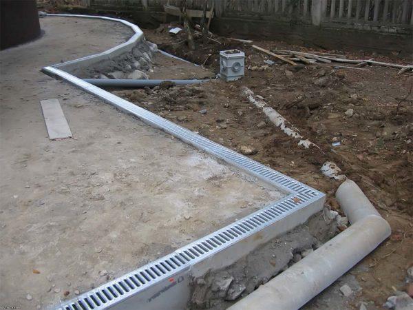 Дождеприемник для ливневой канализации монтаж