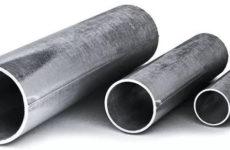 Виды и размеры металлических труб