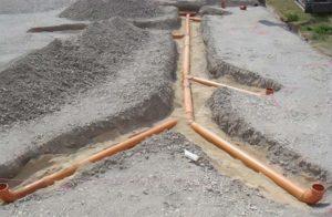 Как обычно производят монтаж наружной канализации