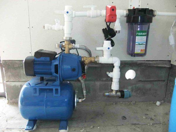 Насосная станция водоснабжения частного дома как установить