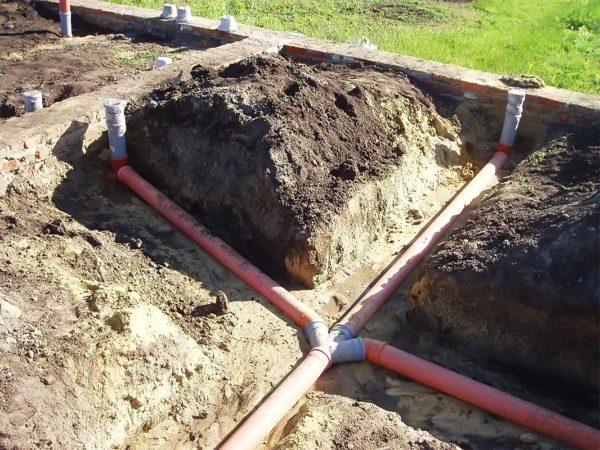Разводка канализации в частном доме, подготовительные работы