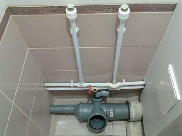 Разводка канализации в частном доме, трубы