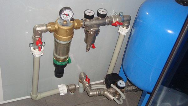 трубы водоснабжения