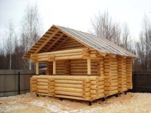Бревна под баню: Выбор древесины и размеров