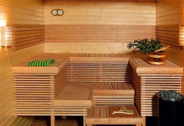 классическая финская баня