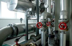 Устройство системы водоснабжения предприятия