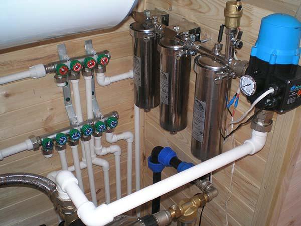 система водопровода
