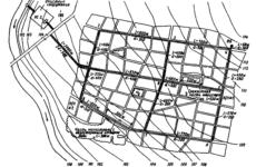 Схема системы водоснабжения населенного пункта