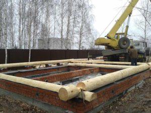 Установка бани на фундамент: этапы и особенности