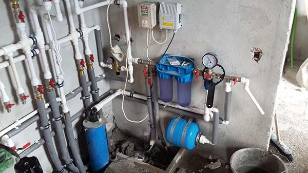 Элементы системы водоснабжения