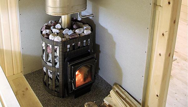 банная печь с каменкой