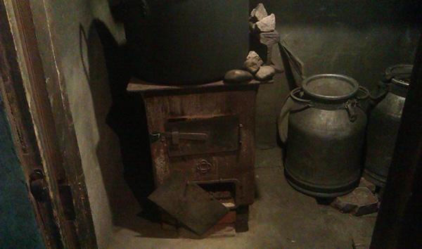 металлическая печь для бани