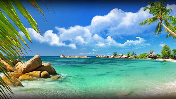 3д фотообои Море