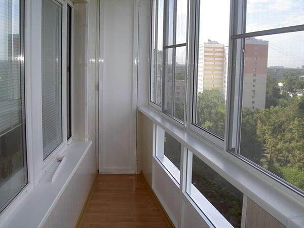 балконные окна ПВХ