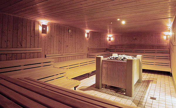 баня под домом