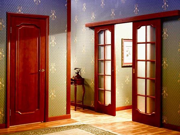 навесные двери межкомнатные