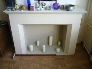 Как сделать камин из гипсокартона: оборудование места, выбор материала, монтаж