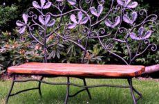 Как сделать садовую скамейку
