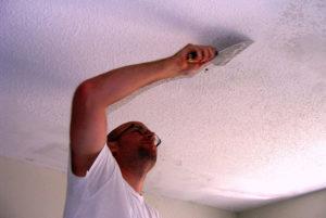 Побелка потолка: выбор материала и процесс нанесения