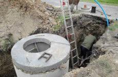 Поэтапное сооружение наружной канализации