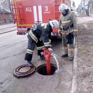 Источники противопожарного водоснабжения