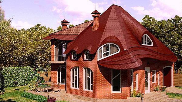 Крыши частных домов: варианты конструкций, достоинства и недостатки
