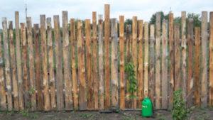 Как сделать забор для дачи