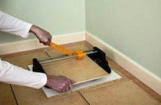 Как резать керамическую плитку: инструкция и меры предосторожности
