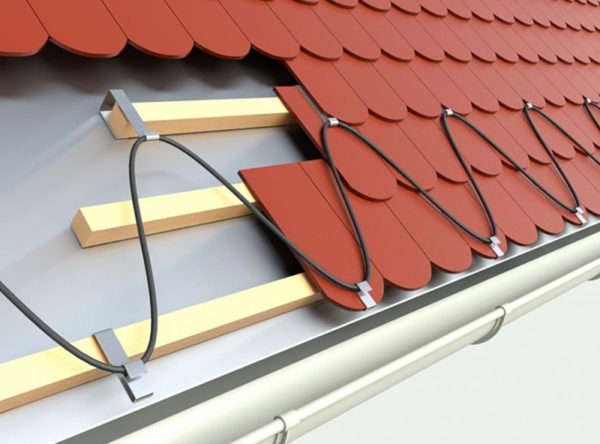 защита от обледенения крыши