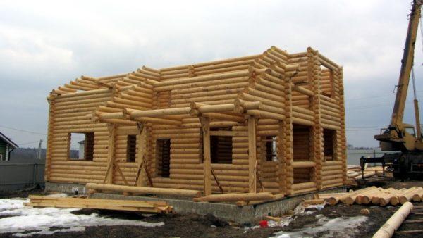 Строительство деревянного дома: последовательность действий
